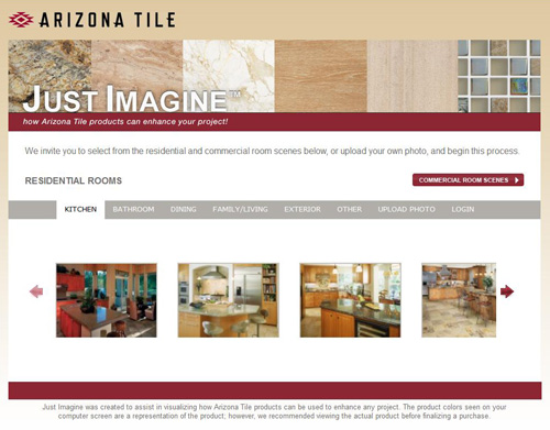 A Very Cool Online Design Tool Compliments Of Arizona Tile