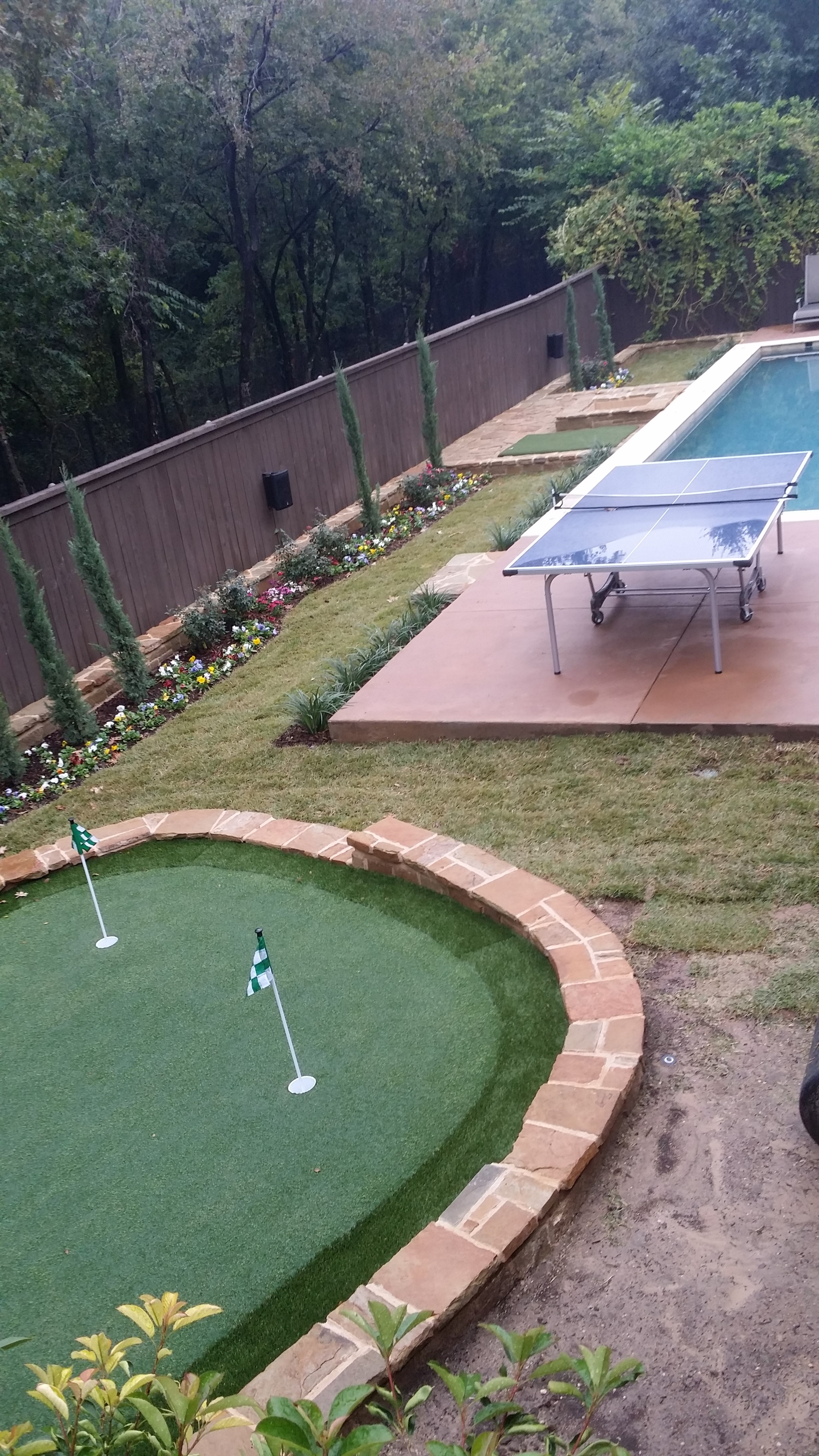 designing and installing a backyard putting green medford remodeling