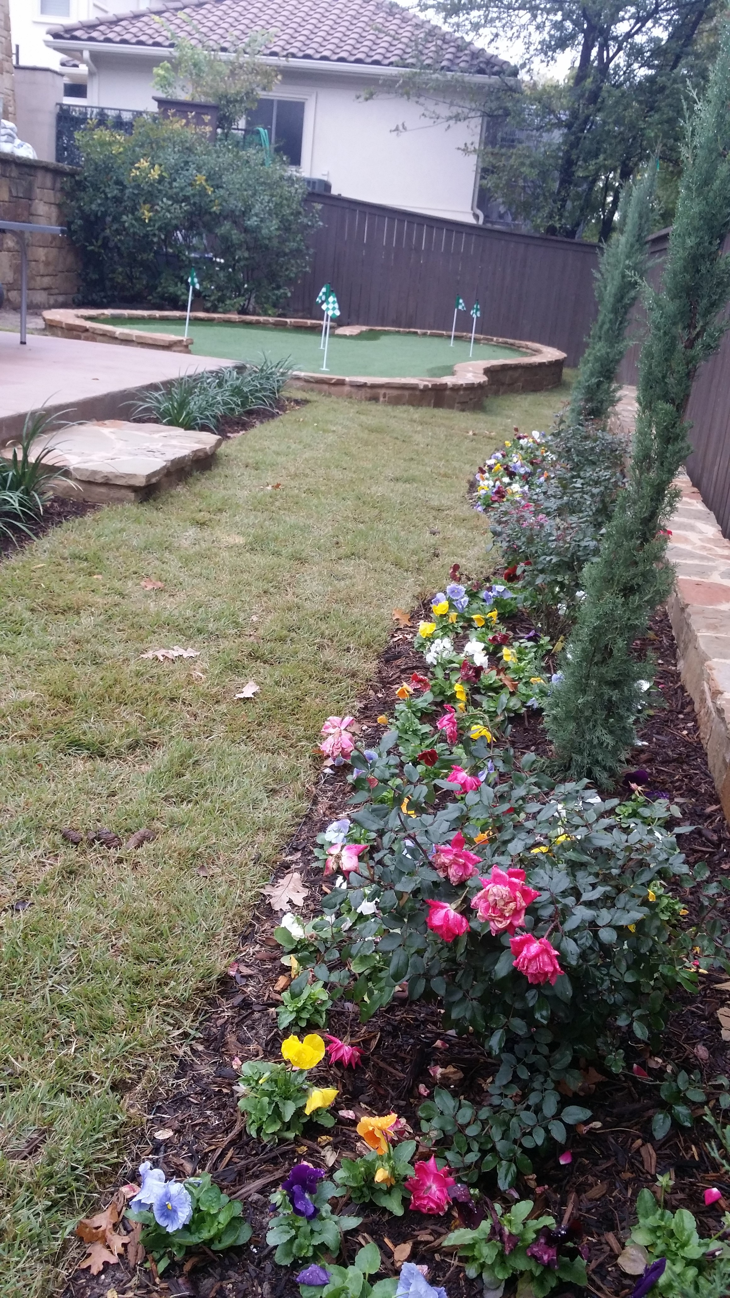 Designing and Installing a Backyard Putting Green ...