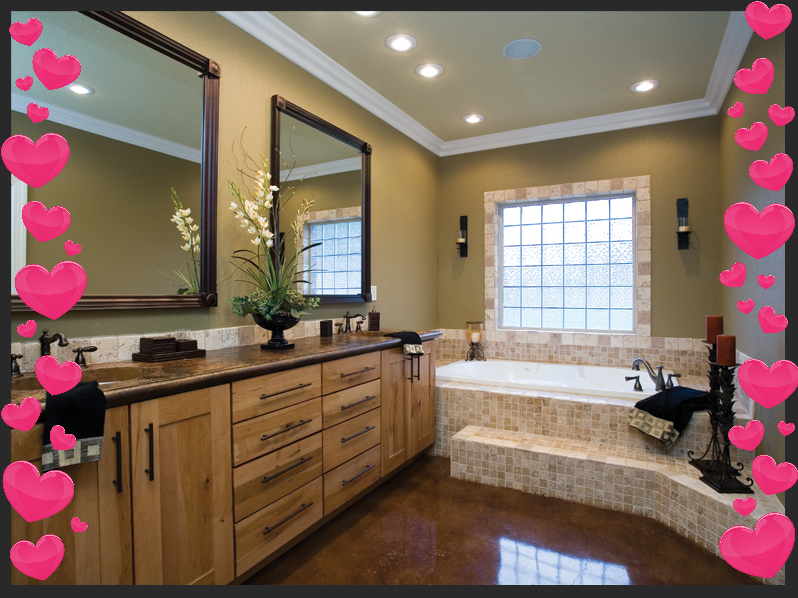 Show Your Bathroom Some Love Our February Newsletter Medford - Bathroom remodel shows