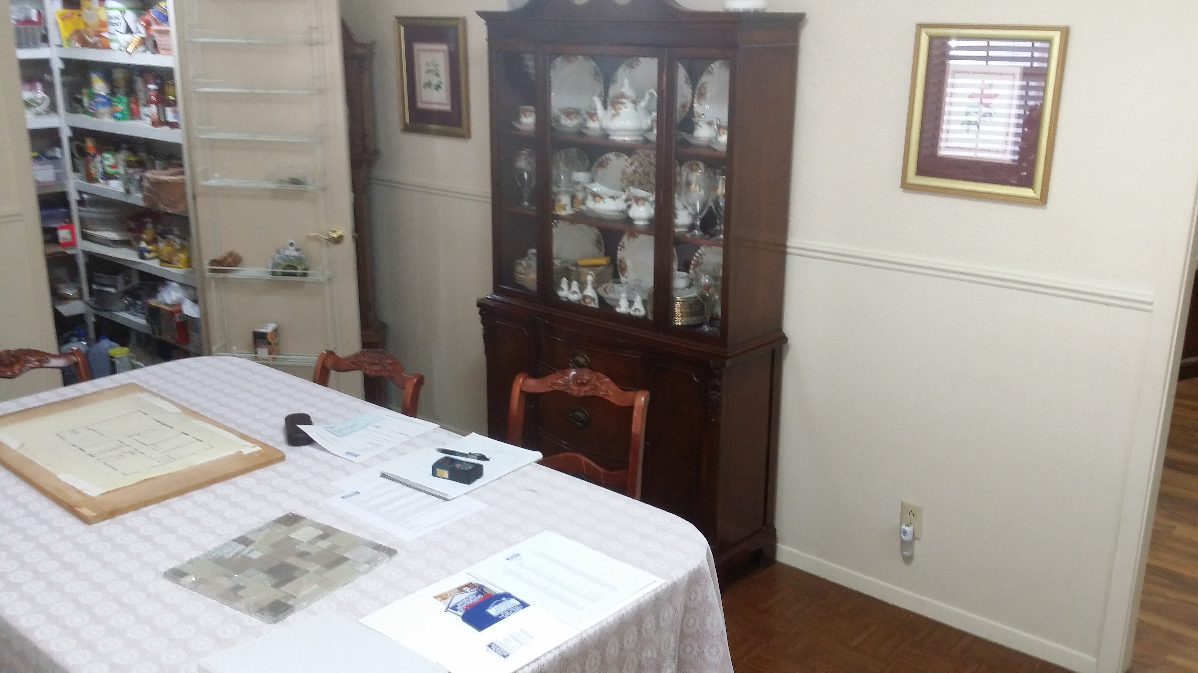 Dining Room Before Remodel