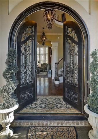 wrought iron front doors4 Benefits of Iron Front Entry Doors  Medford Remodeling