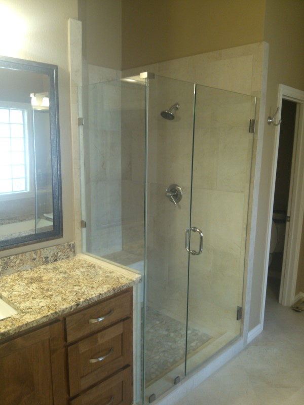 Frameless Glass Shower Amp Bathroom Renovation Medford Design Build
