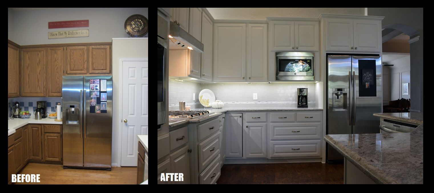 Revive Kitchen Cabinets Fresh Paint New Floors And A Remodeled Kitchen Revive A 23 Year