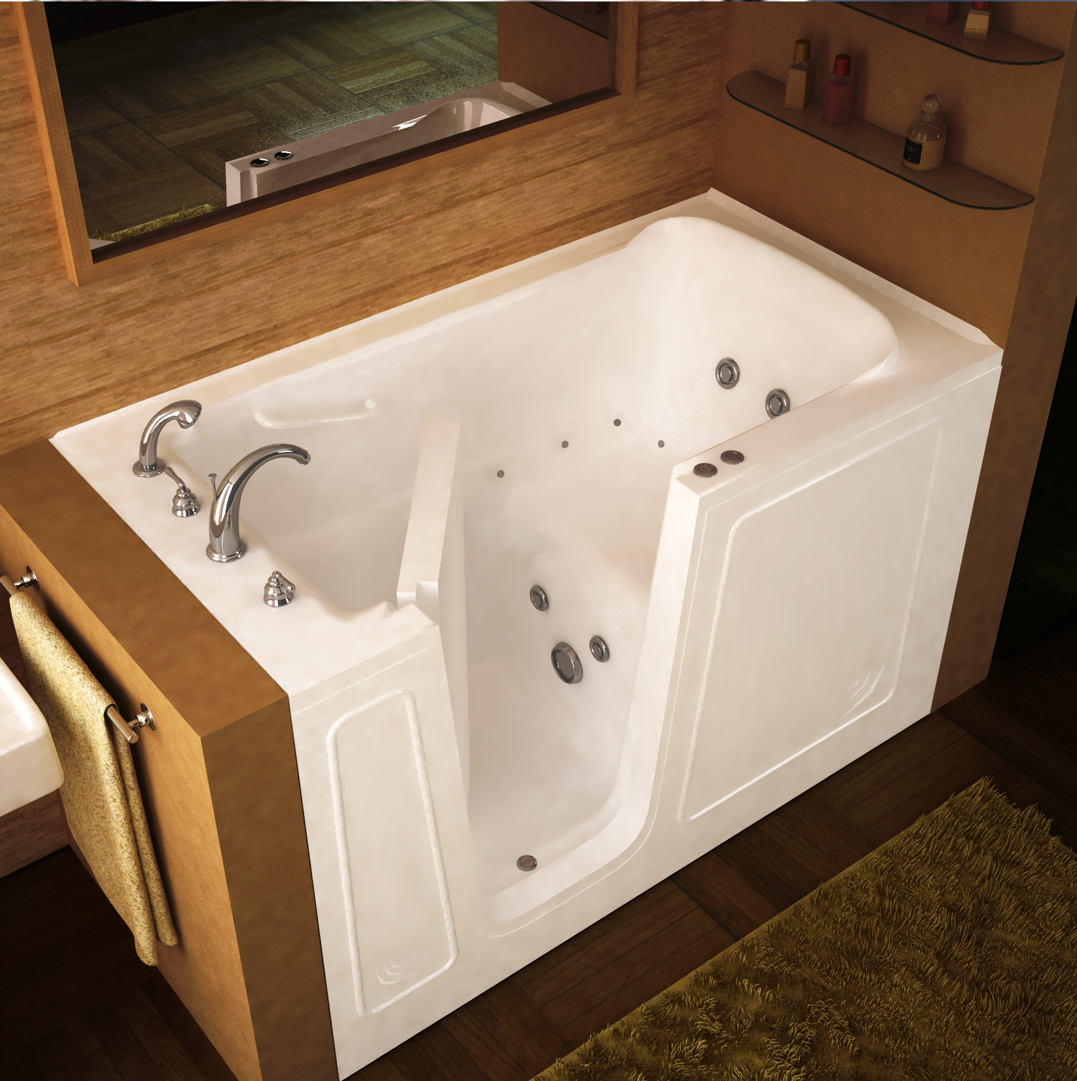 difference and walkin blog tubs walk gelcoat bathtub manufacturers between the differences in bathtubs acrylic