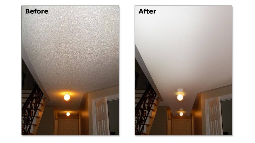 Popcorn Ceiling Repairs In Greenville Sc