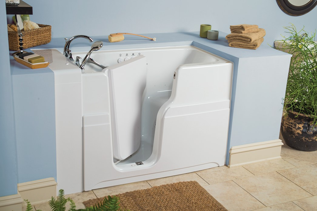Aging In Place Facts To Consider About Walk In Tubs