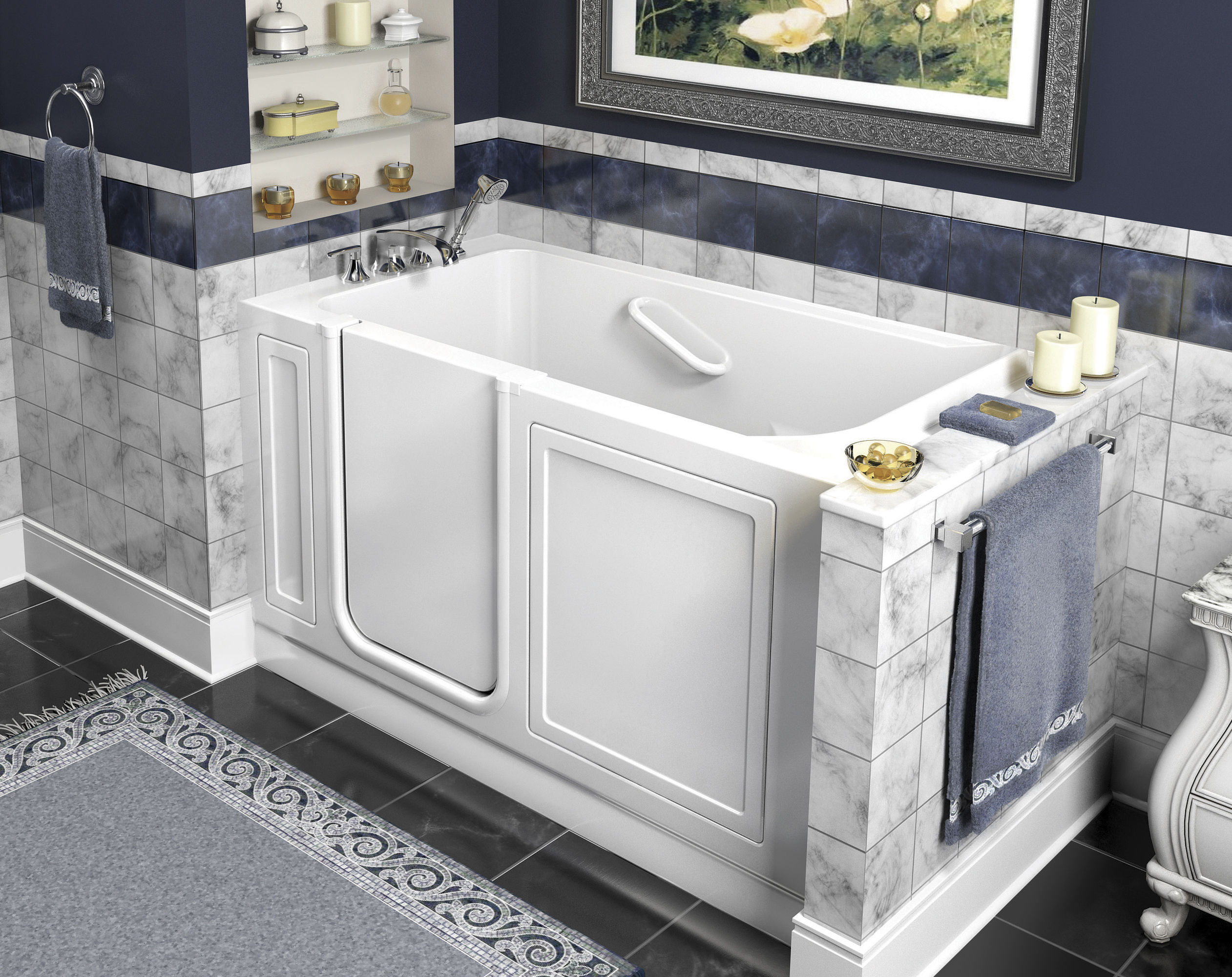 Aging In Place: Facts To Consider About Walk In Tubs
