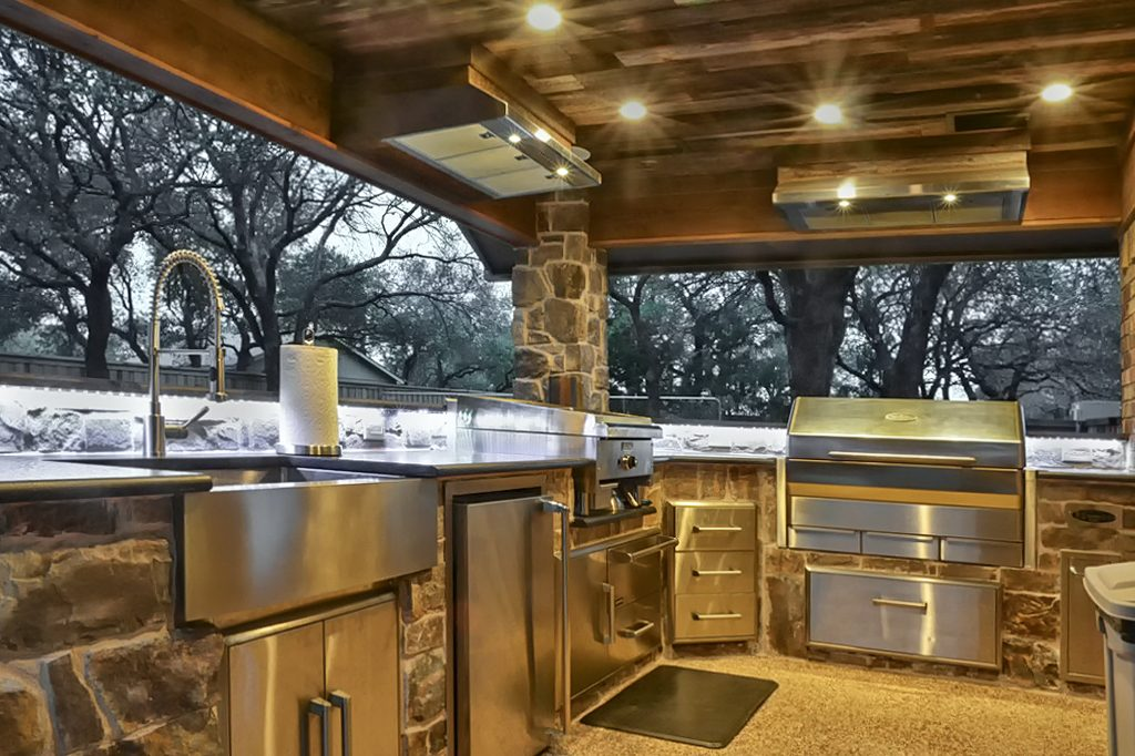 outdoor kitchen built in griddle kitchen appliances tips and review