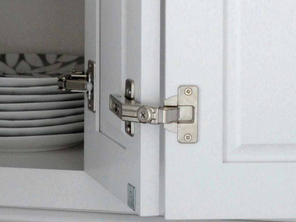 awesome Fixing Kitchen Cabinet Hinges #4: Self-Close Cabinet Hinges are an Easy Way to Fix Noisy Kitchen Cabinets