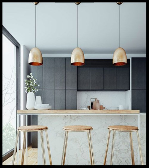 Pendant lights are a very popular choice for kitchen lighting they are usually installed over the island peninsula or above the dining or breakfast area
