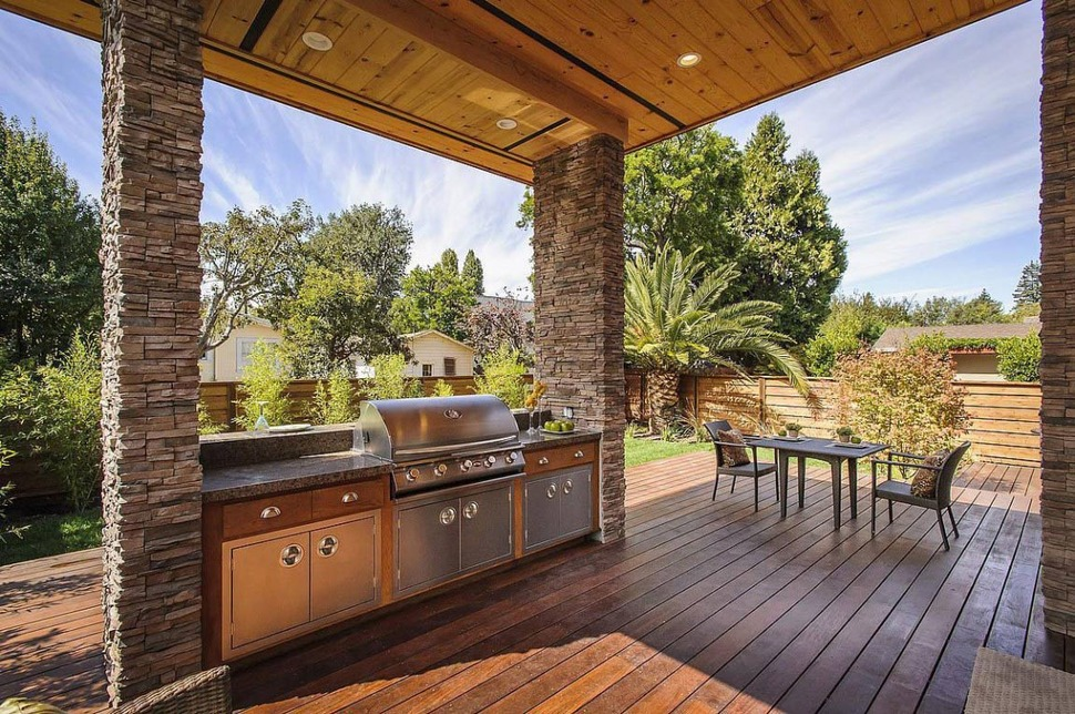 Ultimate Outdoor Kitchen & Living Area
