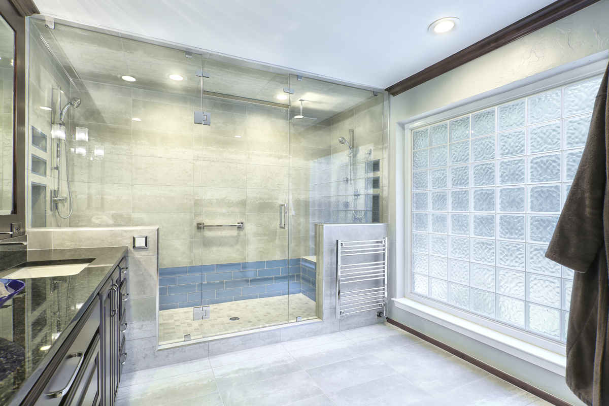 A Dated Master Bathroom Gets A New Look The Ultimate Shower