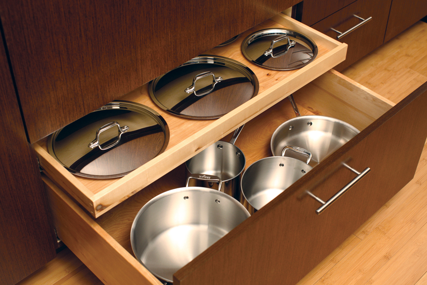 8 Storage Solutions & Features for a Sleek, Uniform Kitchen