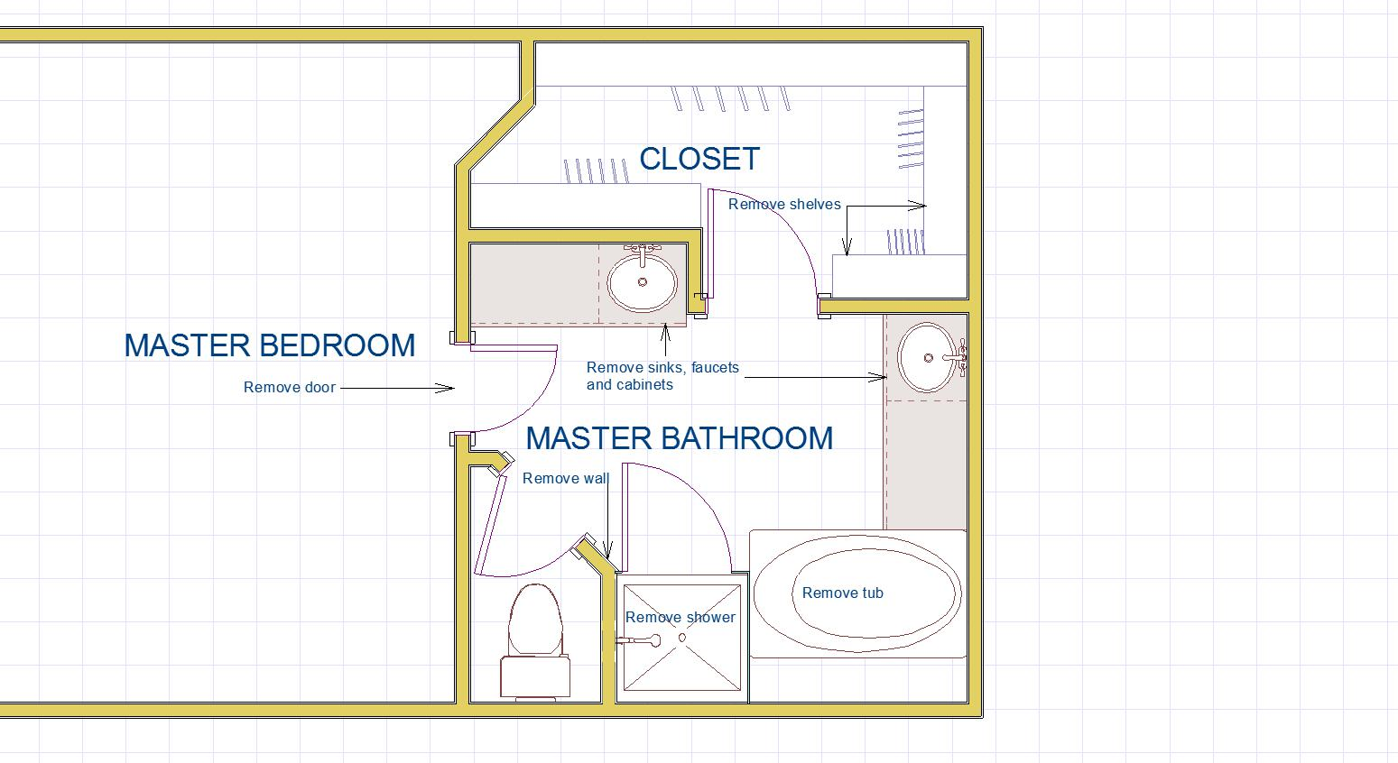 100 Master Bath Before Floor Plan 163 Best Corner Shower For Small Bathroom Images On