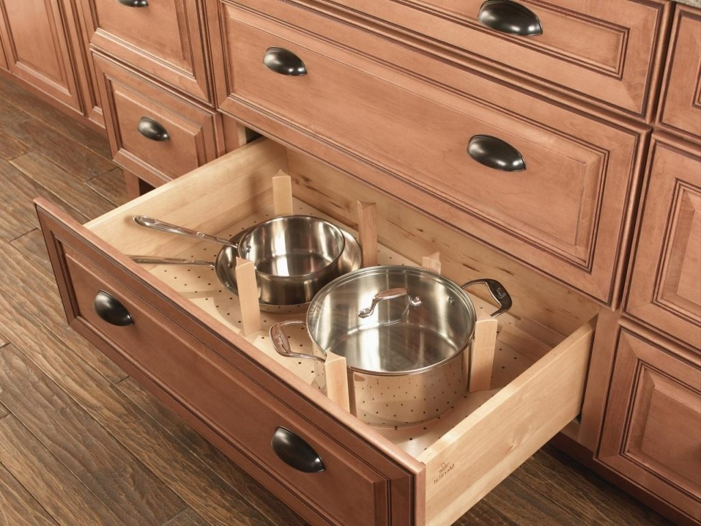 Drawers are Better than Lower Kitchen Cabinets