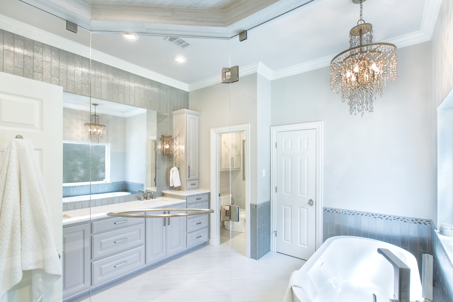 Our Recent Bathroom Project Involved Renovating A Large Master Bathroom In  An Upper End Arlington, Texas Home. The Existing Bathroom Was Quality And  ...