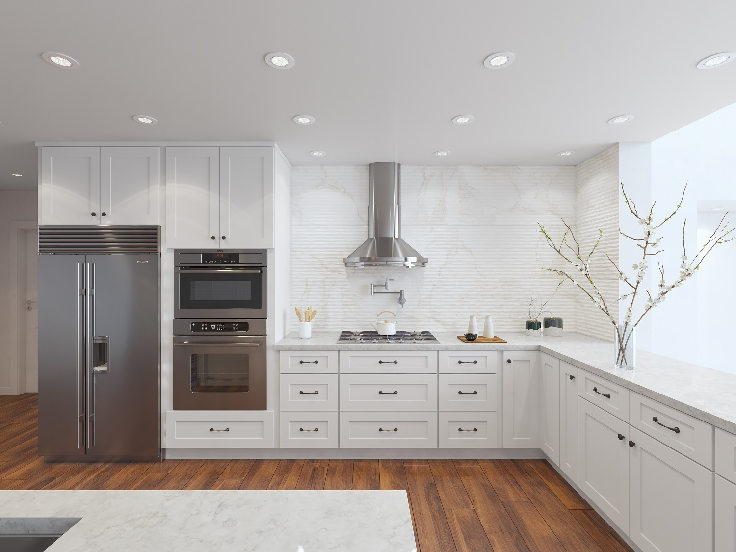 Shaker Style Kitchen Remodeling Medford Design Build