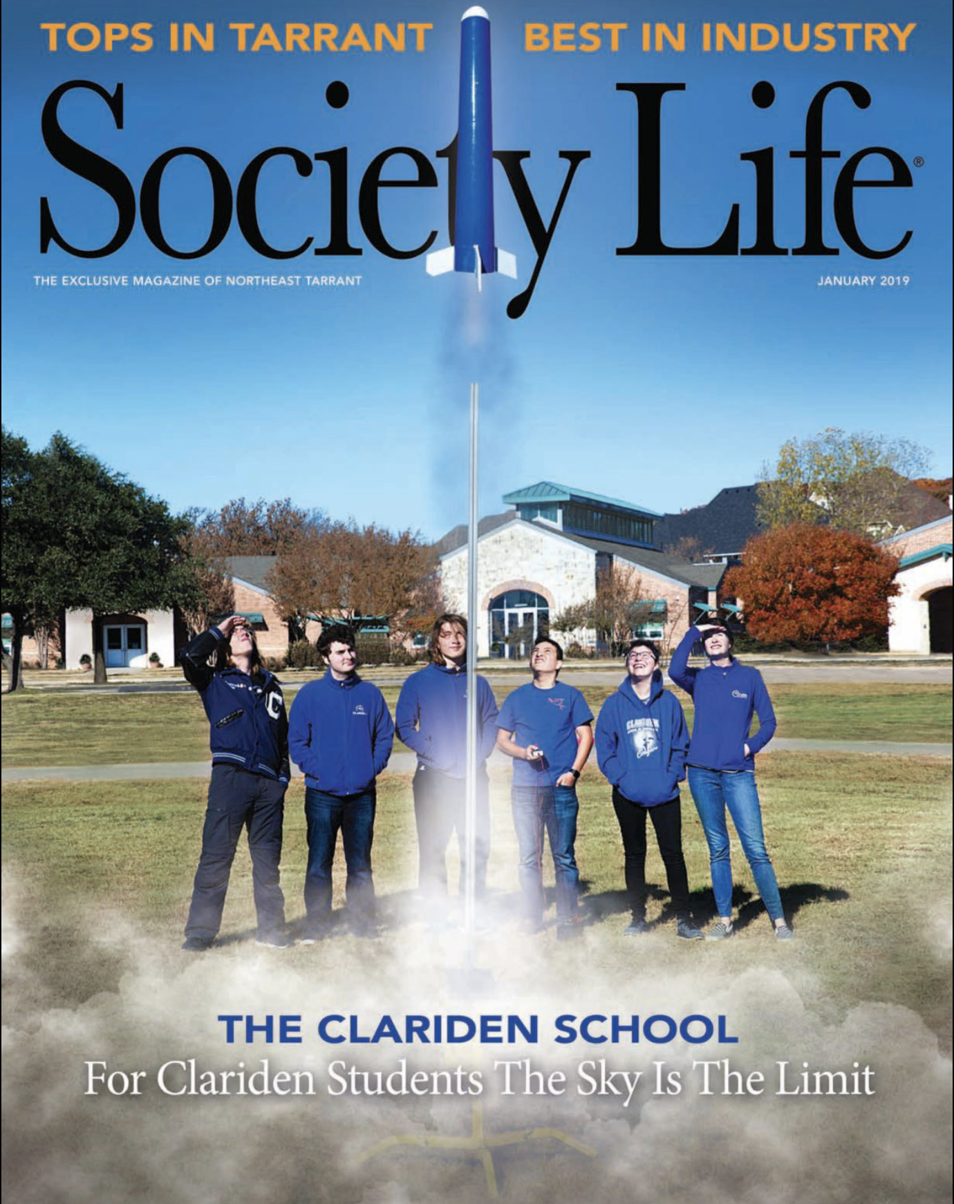 Society Life Magazine January 2019
