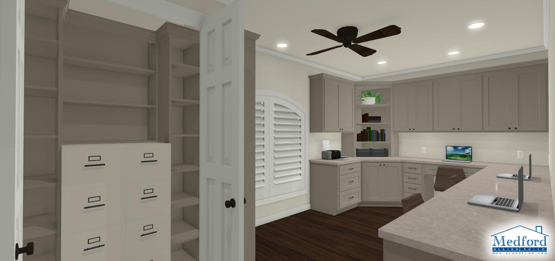 home office rendering