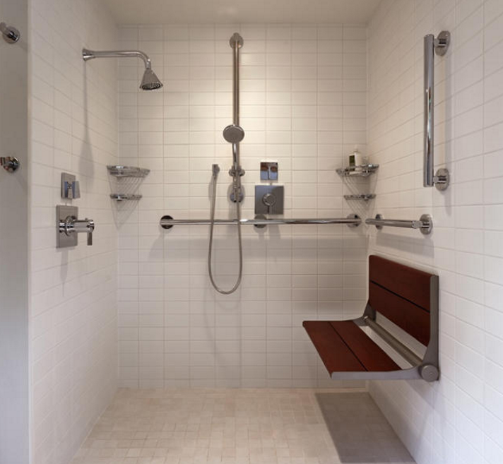 age-in-place shower remodeling