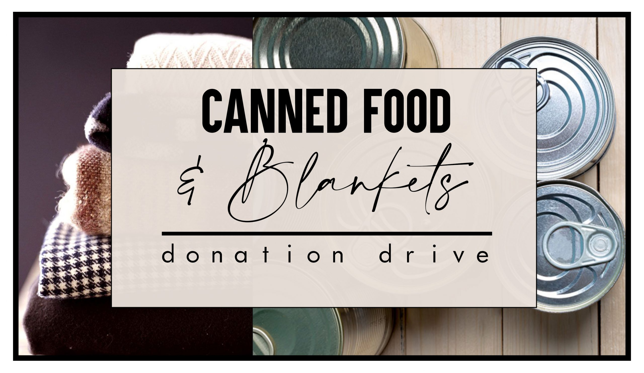 MLK Day of Service Canned Food & Blanket Drop-Off